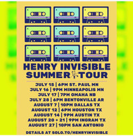 Henry Invisable on Tour