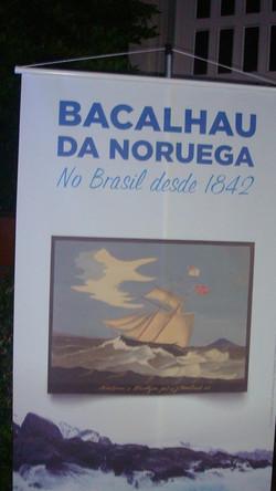 Uma noite de Bacalhau da Noruega