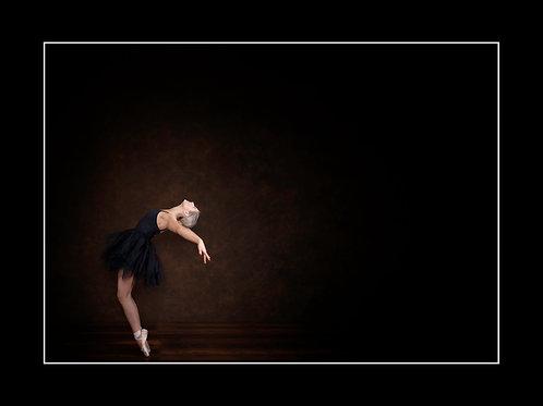 Ballet Pose #1Mounted Print
