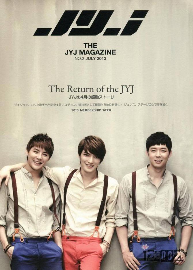 《The JYJ Magazine Vol. 2》