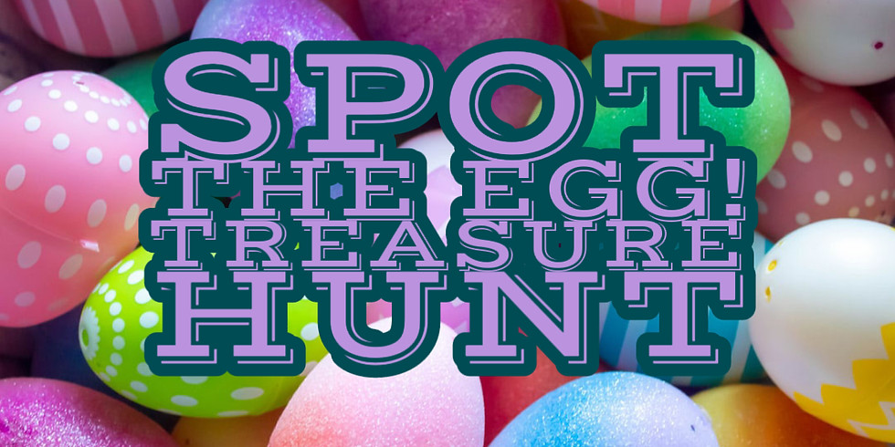 SPOT THE EGG! TREASURE HUNT