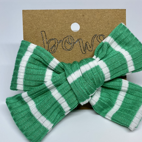 seafoam green bow