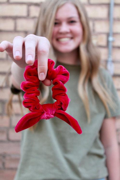 scarlett velvet scrunchies