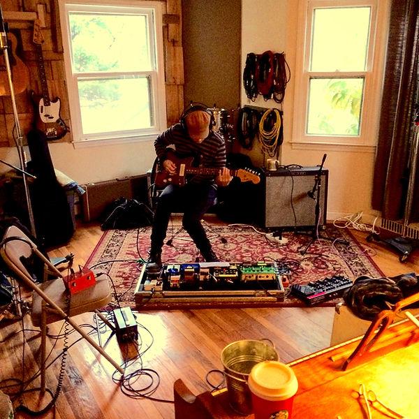 studio guitar tracking