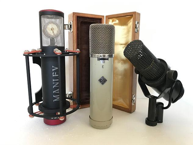 Manley Cardioid Reference Telefunken 251 Vintage Shure SM7