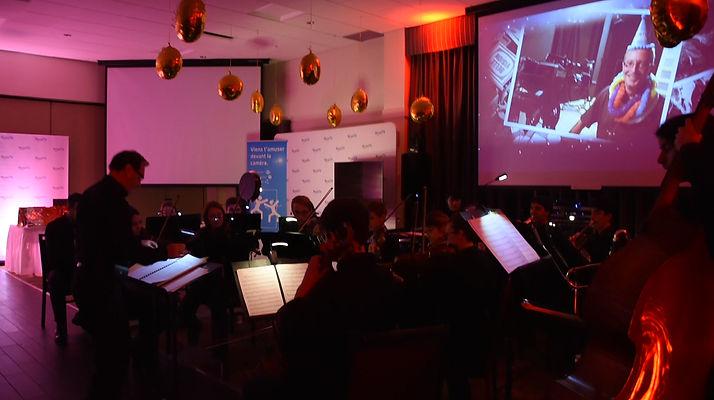 SymphoPop Drummondville - Ambiance gala