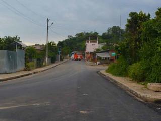 ALCALDE HACE REALIDAD ASFALTADO EN PARROQUIA PROGRESO