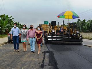 Inician trabajos de asfalto en Buenavista