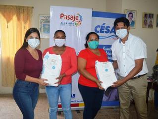 Moradores de Casacay recibieron curso de pastelería