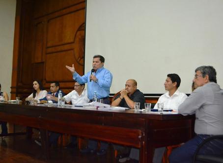ALCALDE CÉSAR ENCALADA CONVOCÓ A SESIÓN EXTRAORDINARIA DE CONCEJO MUNICIPAL