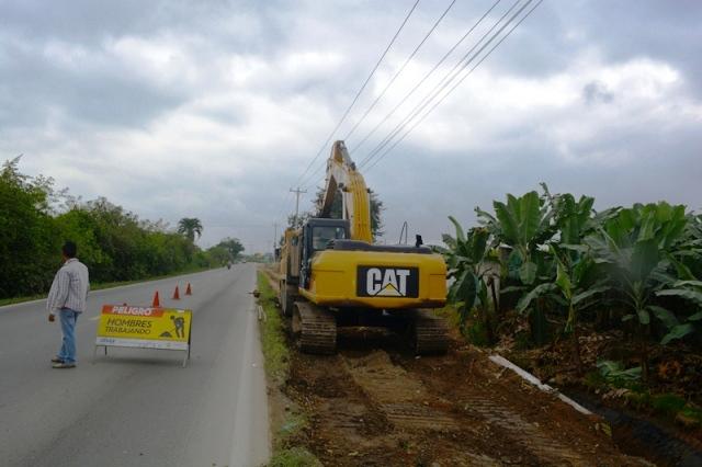 Trabajo preventivo de inundación