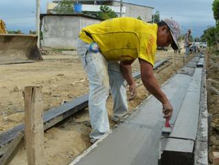 CONSTRUCCIÓN DE BORDILLOS CON CUNETAS EN CIUDADELA RICAJER