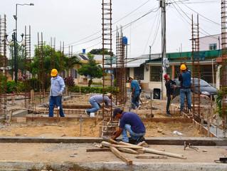 ALCALDÍA DE PASAJE CONSTRUYE ESCENARIO CULTURAL Y BAÑOS EN CDLA. LA FRANCISCA