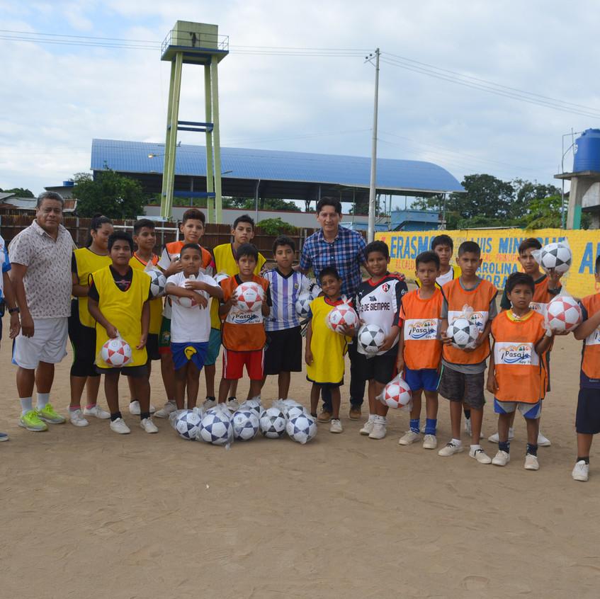 Escuela de fútbol La Peaña
