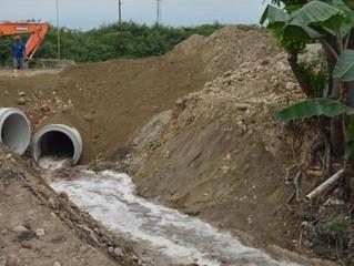 ALCALDÍA MEJORA CALIDAD AMBIENTAL CON OBRA DE EMBAULADO DE CANAL