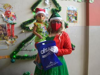 Llegó la navidad en San Antonio Plaza