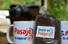 Café nacional de aroma en Río Pindo