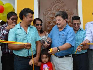 ALCADE ENTREGÓ VIVIENDAS A FAMILIAS QUE FUERON REUBICADAS