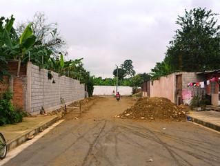 Apertura de calle en Buenavista