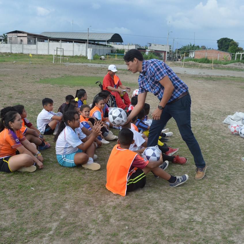Escuela de fútbol Caña Quemada