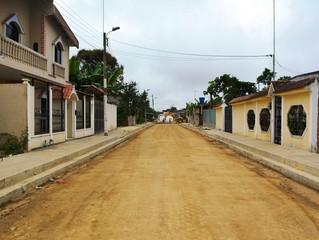 ALCALDÍA DE PASAJE CON CALLES LISTAS PARA UBICAR CARPETA ASFÁLTICA EN BUENAVISTA