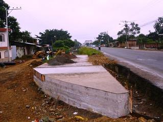 Alcaldía de Pasaje construye puente
