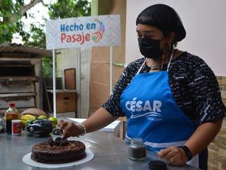 Alcaldía de Pasaje promociona la pastelería Maryni emprendimiento productivo que endulza la vida.