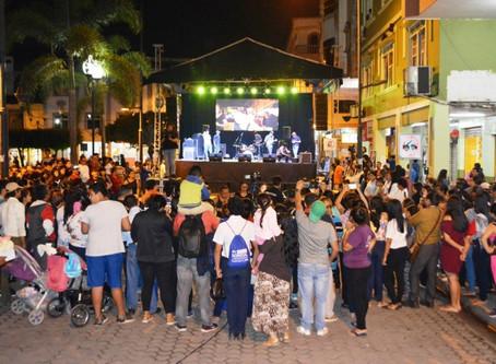 ALCALDÍA DE PASAJE INAUGURÓ MES DE LAS ARTES CON EVENTO DE EXPRESIONES CULTURALES