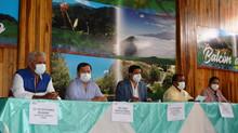 Firma de acta de conservación cuenca de río Casacay