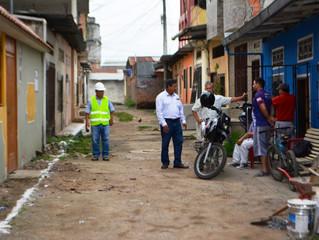 ALCALDÍA DE PASAJE INICIÓ LOS TRABAJOS DE REGENERACIÓN DE CALLEJÓN LA GONZÁLEZ.