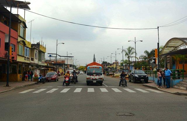 Semáforo en avenida Jubones