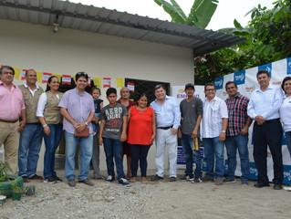 IGLESIA ARCO, EMPUVI Y ALCALDÍA DE PASAJE ENTREGARON VIVIENDA SOCIAL A FAMILIA HUMILDE.