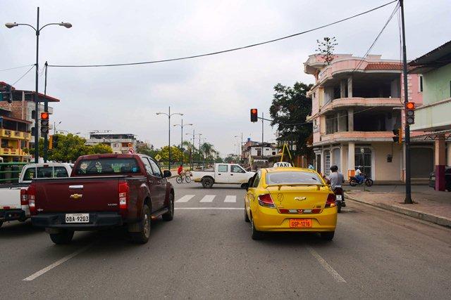 Instalación de semáforo