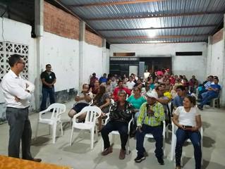DIRECCIÓN DE PLANIFICACIÓN SOCIALIZÓ PROCESO DE LEGALIZACIÓN DE PREDIOS EL ASERRÍO