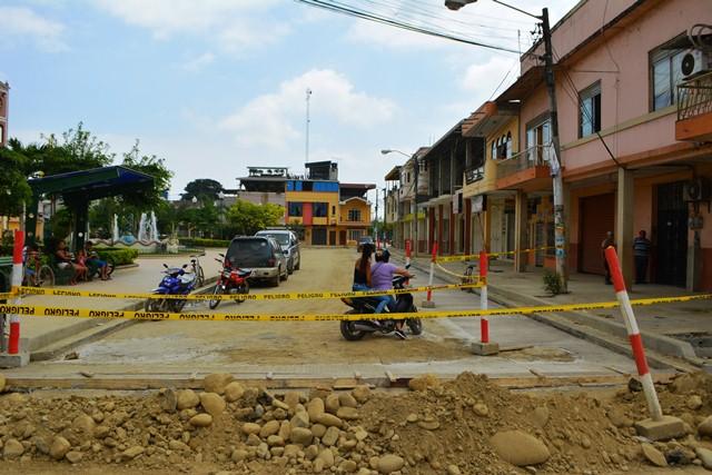 Regeneración calle Bolívar