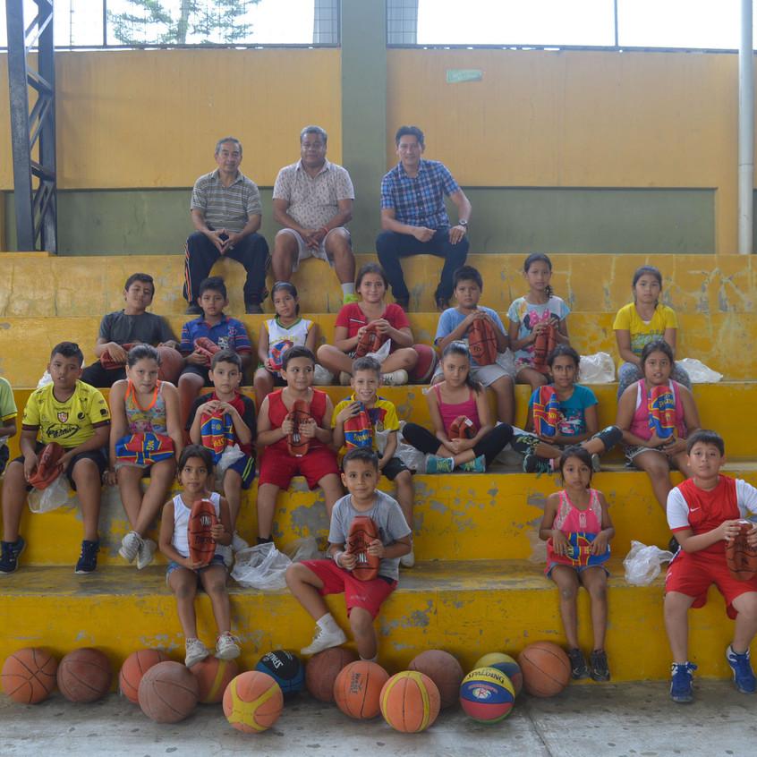 Escuela de básquet Buenavista