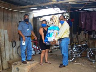Alcaldí entregó kits de ayuda en zonas rurales