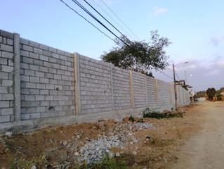 ALCALDÍA DE PASAJE CON 75 METROS LINEALES DE CERRAMIENTO CONSTRUIDOS EN EL CAMAL