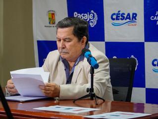 ALCALDE ARQ. CÉSAR ENCALADA ERRÁEZ PRESENTÓ RENDICIÓN DE CUENTAS PERIODO 2020.