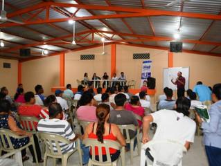 ALCALDÍA DE PASAJE SOCIALIZA LEGALIZACIÓN DE PREDIOS EN SITIO EL ASERRÍO