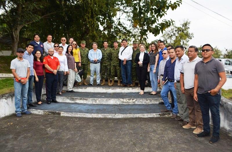 Reunión de Alcalde y  Autoridades