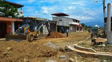 Mejoramiento en calles Ltz. San Pedro