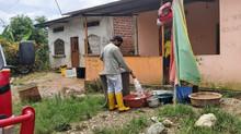 En abril se entregó un millón 500 mil galones de agua en los barrios de Pasaje.