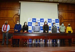 Encuentro regional de juventudes en Pasaje