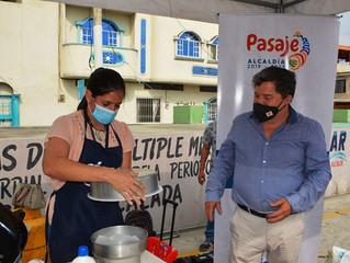 Alcalde promueve cursos de pastelería