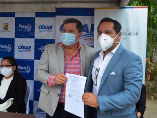 Insumos y equipos médicos para Distrito de Salud