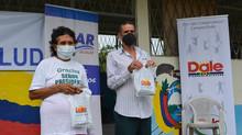 Fundación DALE y alcaldía de Pasaje en sitio Rájaro realizaron brigada medica.