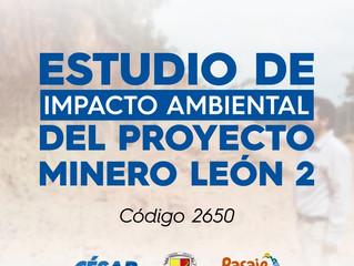 ESTUDIO AMBIENTAL DEL PROYECTO MINERO LEÓN 2