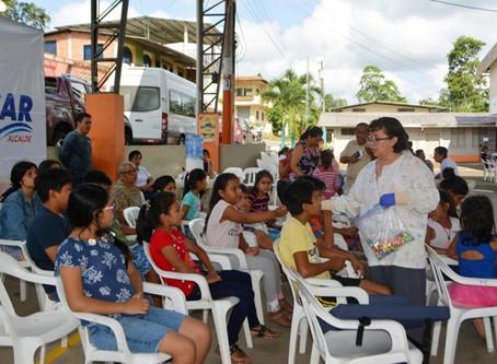 ALCALDÍA DE PASAJE Y CHARITY ANYWHERE FOUNDATION REALIZARON BRIGADA EN CASACAY