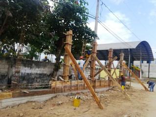 ALCALDÍA DE PASAJE CONSTRUYE CERRAMIENTO DEL CENTRO DE FAENAMIENTO MUNICIPAL